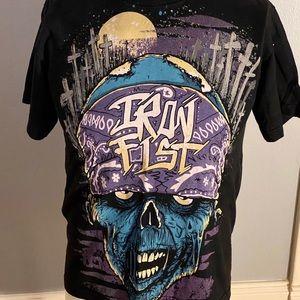 IRON FIST Zombie T Shirt